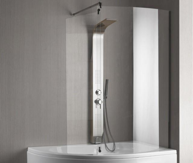 Vasca da bagno combinata con box doccia paris - Cambiare vasca da bagno con doccia ...