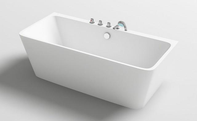 Vasca Da Bagno 170 75 : Vasca da bagno freestanding appoggio a parete h iseo