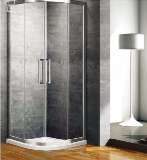 Box doccia semicircolare doppia porta scorrevole ft8090 - Porta scorrevole doppia ...