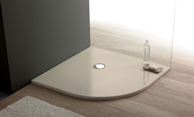 Piatto doccia in acrilico semicircolare - Piletta piatto doccia ...
