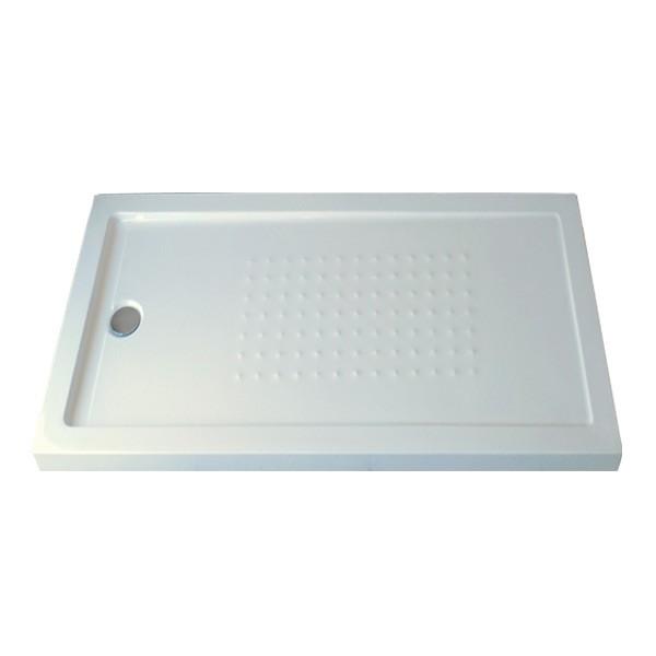 Piatto doccia rettangolare in resina hydra - Dimensioni piatto doccia rettangolare ...