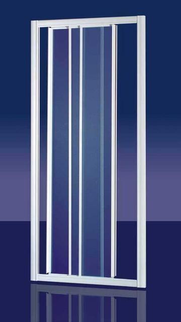 Porta doccia in acrilico zenith door apertura a 3 ante - Porta doccia 120 ...