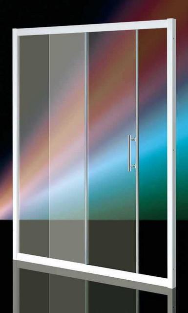 Porta doccia wako door singola porta scorrevole - Porta in cristallo scorrevole ...