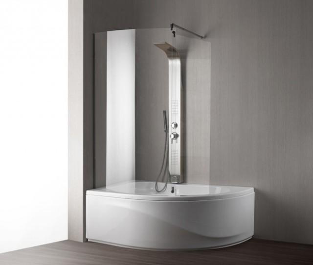 Vasca da bagno combinata con box doccia paris - Vasche da bagno piccole con seduta ...
