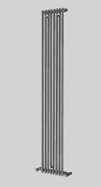 Radiatore da bagno messina cromato singolo 12 elementi for Radiatore bagno