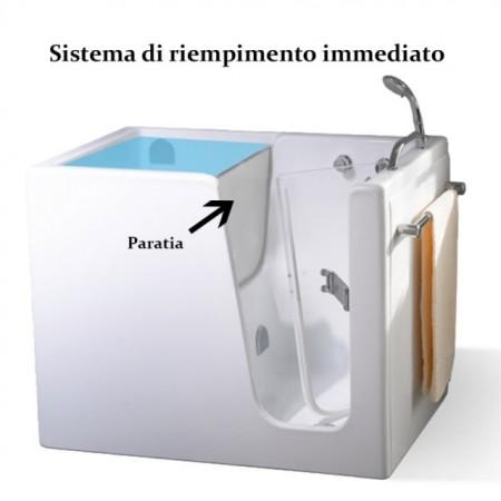 "VASCA CON SPORTELLO ""ARIA"""