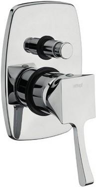 Monocomando vasca/doccia incasso con deviatore Chic - Cromato/Nichel/Bronzato
