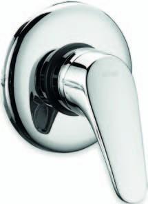 Monocomando doccia incasso Nova