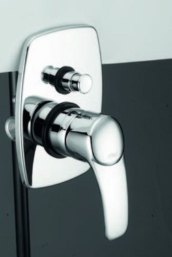 Monocomando vasca/doccia incasso con deviatore Kyros