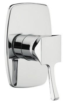 Monocomando doccia incasso Chic - Cromato/Nichel/Bronzato