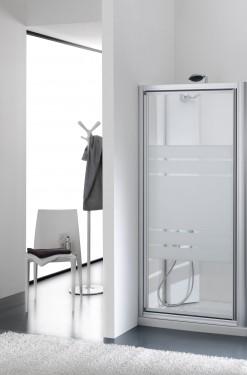 Porta doccia in cristallo sail - Porta doccia nicchia prezzi ...