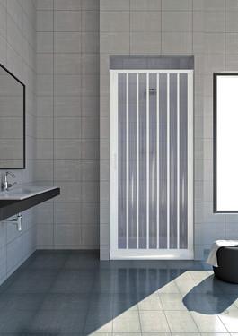 Porta per doccia a nicchia con apertura laterale idamal - Porta doccia nicchia prezzi ...