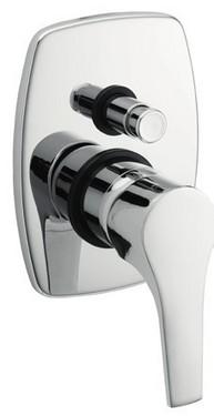 Monocomando vasca/doccia incasso con deviatore Domino