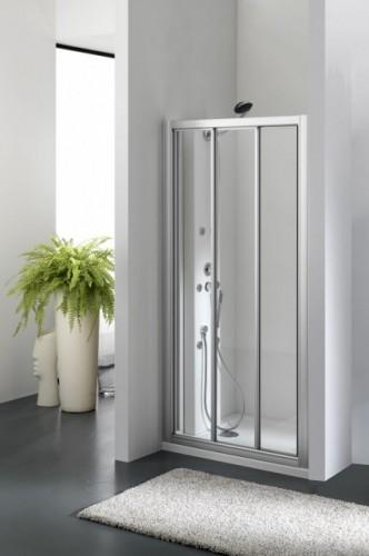 """PORTA DOCCIA IN VETRO 3 porte scorrevoli  """"ZENITH DOOR"""""""