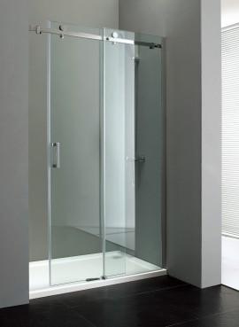 Porta per doccia a nicchia con apertura scorrevole am - Porta per doccia ...