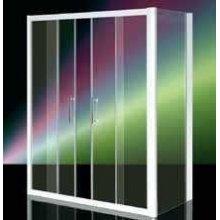 Box Doccia In Cristallo 6mm 'Kama Door' 2 Ante Fisse e 2 Ante Scorrevoli - Altezza 185