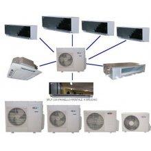 CLIMATIZZATORE CONDIZIONATORE DC INVERTER MULTISPLIT CLASS AAA GAS ECOLOGICO R410A - TRIAL SPLIT