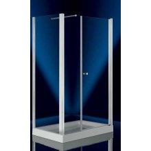Box Doccia in Cristallo 6mm 'Sirio Door' - Anta Fissa + Porta Battente- Altezza 185