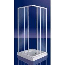"""Box Doccia Tre lati in vetro  """"ADRIA"""" - apertura angolare scorrevole -"""