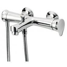 Monocomando vasca con doccia e flessibile doppia aggraffatura Belinda