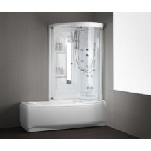 "VASCA DA BAGNO COMBINATA + BOX ""DAKOTA"""