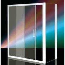 Box Doccia in Cristallo 6mm 'Wako Door'  Apertura Scorrevole + Anta Fissa  - Altezza 185