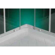 Box Doccia 'Phoenix'  in Cristallo 3+5mm Apertura Scorrevole 80x80 - 90x90 - 70X90 - Altezza 185
