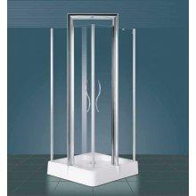 Box Doccia quadrato con Porta Battente 'Althea' in Cristallo 6mm
