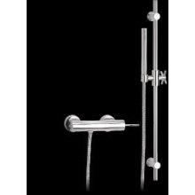 Monocomando doccia esterno con saliscendi