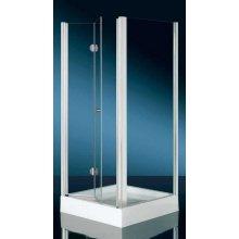 BOX Doccia in Cristallo 6mm 'Hidra Door' - Apertura a ventaglio - 70 - 80 - 90 - Altezza 185