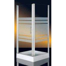 Box Doccia in Cristallo 6mm 'Blady Door' - Apertura a battente  70 - 80 - 90 - Altezza 185