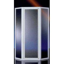 Porta Doccia in Cristallo 3+3mm 'Royal' - Ad angolo pentagonale - 90 - Altezza 185