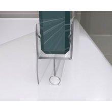 Sopra Vasca in vetro 6mm Trasparente dim 100 o 120cm h140cm