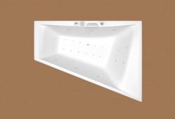 "Vasca da bagno "" IMPACT"" Salvaspazio 170x130(63)"