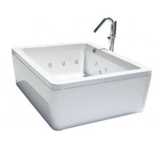 Miscelatori vasca idromassaggio angolare 120x120 - Lunghezza vasca da bagno ...