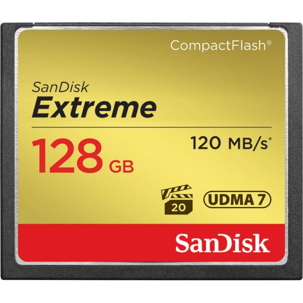 SanDisk Compact Flash Extreme 128GB UDMA 7