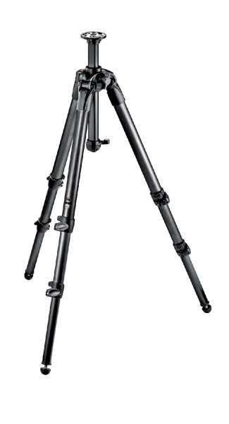 Trepied Manfrotto MT057C3 din carbon, picioare in 3 sectiuni