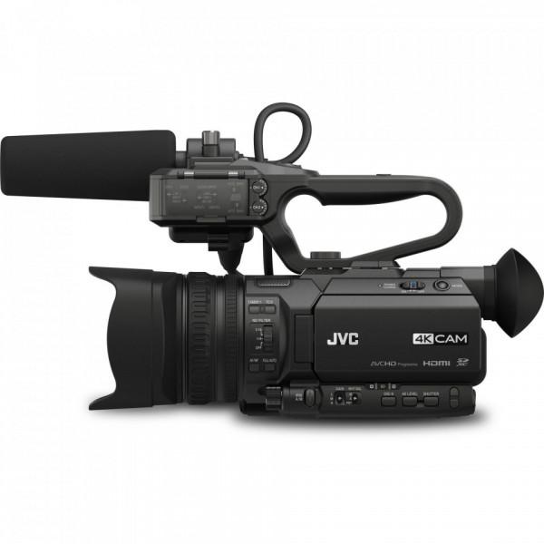 Camera Video JVC GY-HM200E 4K, Streaming, Zoom 12x