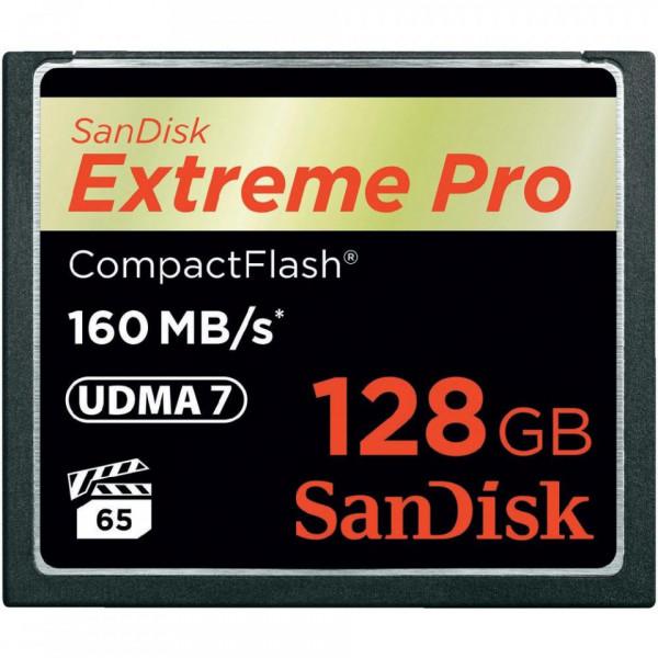 SanDisk CompactFlash Extreme Pro 128GB UDMA 7