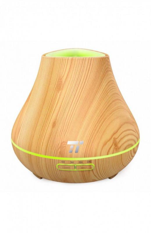 Difuzor aroma terapie Taotronics TT-AD004 400ml, 13W, light grain Stejar deschis
