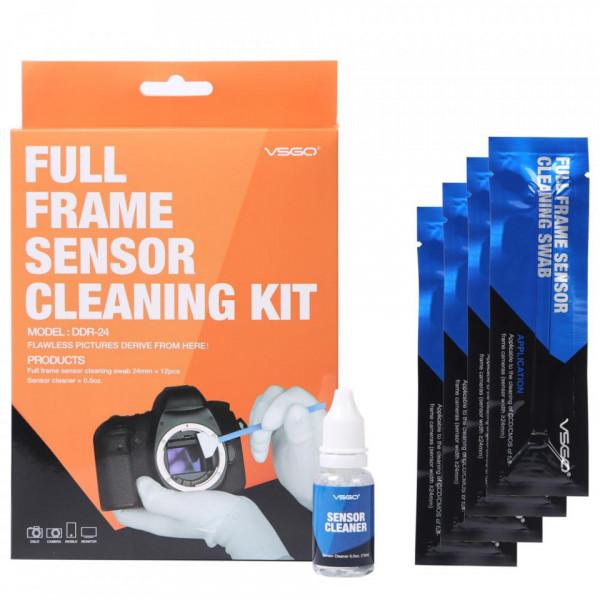Set de curatare senzor Full Frame VGSO DDR-24 - 12 bucati