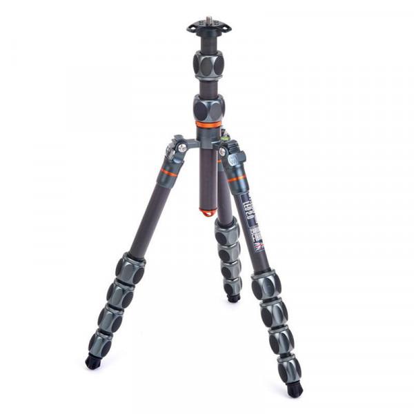 Trepied foto-video 3 Legged Thing Pro 2.0 Leo Metallic Slate Grey Carbon