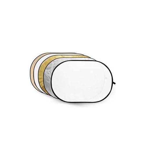Blenda Godox 5 in 1 Gold, Silver, Soft Gold, White, Translucent 80X120cm