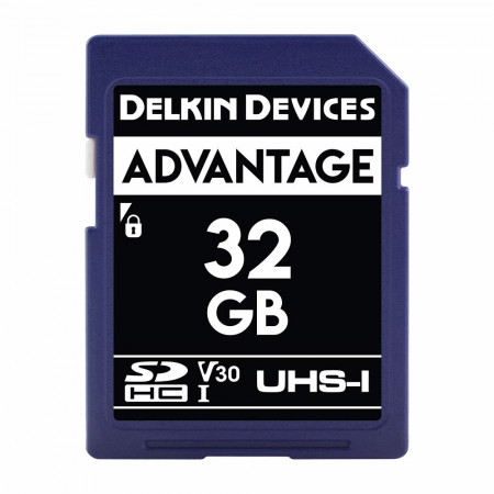 Card memorie 32GB DELKIN SD Advantage 660X UHS-I U3 (V30) R90/W90