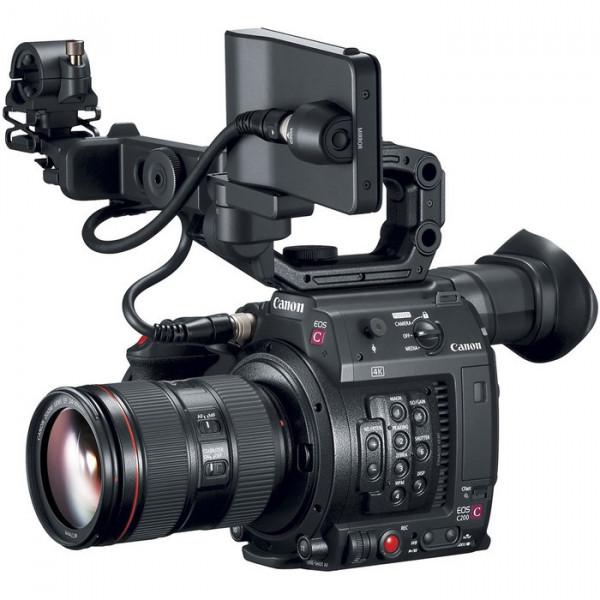 Kit Camera video Canon C200 + Obiectiv Canon EF 24-105mm