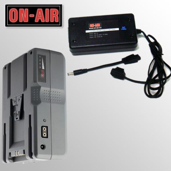 Kit Power ON-AIR 160 - Incarcator V-Lock + 1 Baterie Li-Ion de 160W