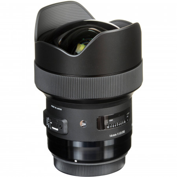 Obiectiv foto Sigma 20mm f/1.4 DG HSM Art - Canon