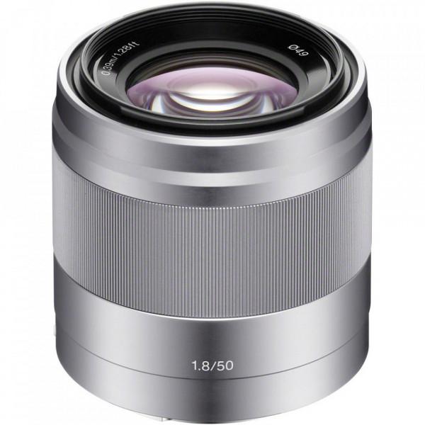 Obiectiv Sony E 50 mm OSS f/1,8 (Silver)