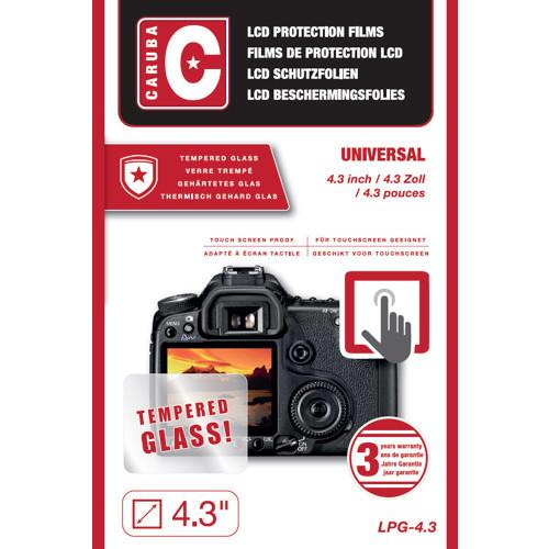 "Sticla protectie Tempered - Caruba LCD Optical Glass Protector 4,3"""