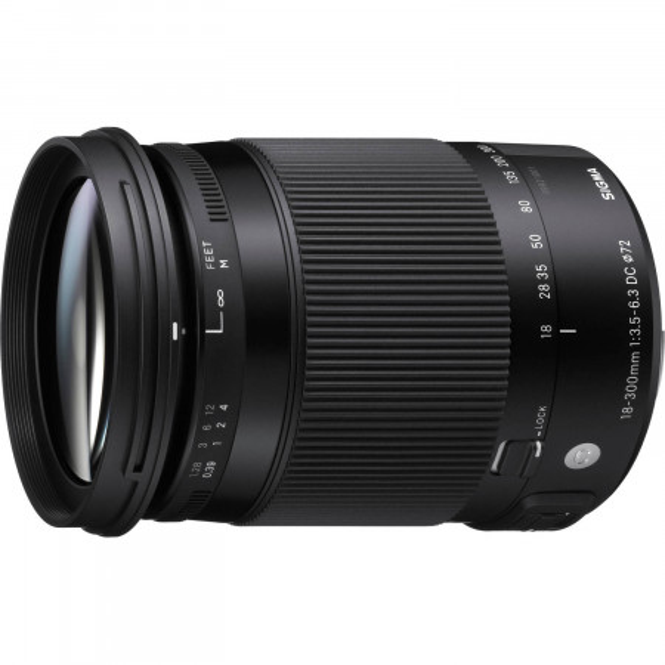 Obiectiv foto Sigma 18-300mm f/3.5-6.3 DC MACRO OS HSM C - Canon EF